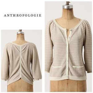 Anthropologie Linear gleam cardigan